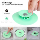 Silicone-Drain-Cover-Kitchen-Water-Sink-Drainer-Strainer-Stopper-Plug-Bathroom