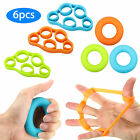 Hand Resistance Bands Finger Stretcher Extensor Exerciser Grip Strengthener Rock