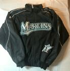 Miami Marlins Majestic Coaches Dugout Jacket