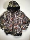 Dickies TJ270 Sanded Duck Quilt Lined Hooded True Timber Camo Jacket