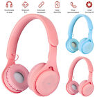 Bluetooth 5.0 Wireless Headphone Stereo Noise Canceling Headset For Kids Girls