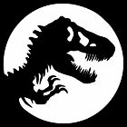 Jurassic World Decal / Sticker - Choose Color & Size - Dinosaur Park