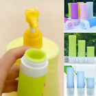 Travel Packing Lotion Shampoo Bottle Silicone Press Bottles For Bath Container