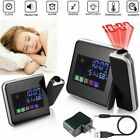 New Home Projection Digital Weather LCD Snooze Alarm Clock Projector Clock