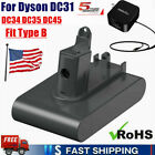 Lithium BATTERY Or Charger For Dyson DC31 DC34 DC35 DC44 Type B Vacuum Cleaner