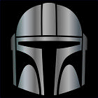 The Mandalorian Decal / Sticker - Choose Color  Size - Star Wars, Baby Yoda