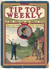Tip Top Weekly #645 8/21/1908- Frank Merriwell-new logo-pulp thrills-G image
