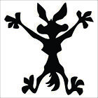 Wile E Coyote Decal / Sticker - Choose Color & Size - Road Runner, Splat,