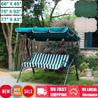 3 Size Garden Swing Chair Canopy Spare Patio Cover Waterproof Replacement Yard