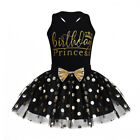 Toddler Baby Girl Kid Birthday Party Princess Outfit Bow Tutu Skirt Dress 12M-6Y