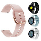 Kyпить For Samsung Galaxy Watch Active 2 42mm 40mm 44mm Sport Soft Silicone Band Strap на еВаy.соm