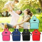 Fashion Mummy Nappy Diaper Bag Baby Care Large Capacity Nursing Backpack Handbag