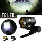Bright 2000Lumen USB Rechargeable Bike Bicycle Headlight Front Back lights Set