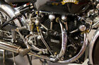 Classic Vincent Motorcycle Metal Print Canvas FujiFilm Poster Large 30 x 20