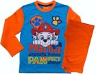 Paw Patrol Pyjama's Boys Girls Character Pjs 2-6 Years Orange / Navy