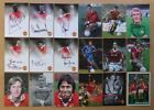 Official Manchester United Portrait Signed Club Cards - Individually Priced