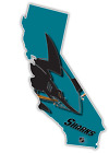 California State San Jose Sharks Ice Hockey Sports Fan Vinyl Sticker Decal Car $22.99 USD on eBay
