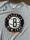 Nike Brooklyn Nets NBA City Edition Biggie B.I.G. Short Sleeve Gray T-shirt on eBay