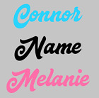 Personalized Child Name Wall Decal Sticker Vinyl Nursery Baby Kids Bedroom Decor