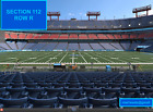 (2) Denver Broncos vs Tennessee Titans tickets -�FIELD LEVEL END ZONE,  AISLE