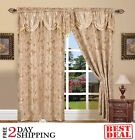 Kyпить Set Of 2 Window Curtains Curtain Panels Drapes For Living Room 84 Inch Long New на еВаy.соm