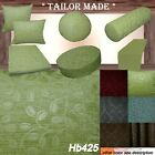 Hb425 Olive Lime Plant Sofa Seat Patio Bench Box Cushion Bolster Cover/Runner
