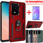 For Samsung Galaxy Note 20 S20 Ultra Plus 5G Shockproof Armor Stand Case Cover