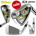 Wilson Staff D200 Irons 5-PW+SW True Temper SL 85 Steel - NEW! *SALE*