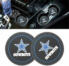 99 Carpro 2.8 Inch Cup Holder Coaster For Dallas Cowboys, 2Pcs Durable Car Inter $11.99 USD on eBay