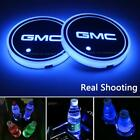 2Pcs Led Car Cup Holder Lights For Gmc, 7 Colors Changing Usb Charging Mat Lumin $23.99 USD on eBay
