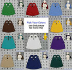 LEGO - Minifigure Cape Cloth - PICK YOUR COLORS - Custom Fabric Robe Star Wars
