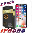iPhone Screen Protector Case Friendly Tempered Glass  2 Pack for Apple iPhone 11