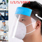 Kyпить Protective Clear Face Shield Safety Mask Isolation Visor Eye Face Protector Mask на еВаy.соm