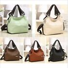 US Women Leather Handbag Shoulder Bag Messenger Crossbody Shopper Satchel Tote image