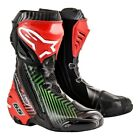 Alpinestars Supertech R Leather Race Limited Edition Motorcycle Motorbike Boots