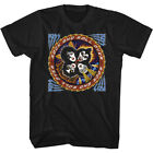 Kiss Music Band T-Shirt Official ROCK AND ROLL OVER Tour Black Cotton New  image