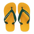 Havaianas Brasil Logo Kids Footwear Sandals - Banana Yellow All Sizes