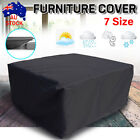 7 Size Waterproof Garden Furniture Cover Outdoor Patio Chair Table Au