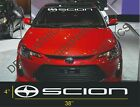 1 Scion Windshield Decal Sticker fr-s tc xb Large 38''x4'' $18.99 CAD on eBay