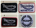 Triumph motorbike motorcycle biker - Sew on Iron on Embroidered- Patch £1.75 GBP on eBay