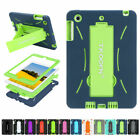 For iPad 2 3 4 Shockproof Hybrid Case Kid Heavy Duty Stand Protective Full Cover