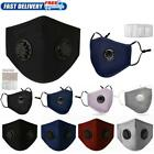 Face Shield Cover Reusable PM2.5 W/ Respirator Filters Anti Air Pollution Lot