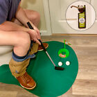 Evelots Potty Putter Toilet Mini Golf Game, Novelty Gag Gift, Putting Practice