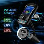 VictSing Wireless Bluetooth Car MP3 Player Kit FM Transmitter Fast USB Charger