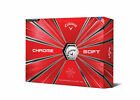 2019 Callaway Chrome Soft Graphene Dual Core One Dozen 4piece Golf Balls - White