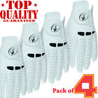 Leather Golf Glove New 4 Pack Genuine Cabretta  Special All Leather Edition