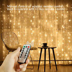 100/200/300 Led Fairy String Lights Curtain Window Wedding Decor Waterproof Home