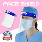1~100PC Full Face Shield  Medical Protective Safety Industry Dental Hat Headwear