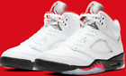 2020 Nike Air Jordan Retro 5 'Fire Red' Size 9-10 DA1911-102 100% AUTHENTIC