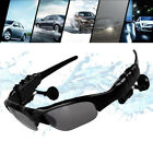 Sunglasses Bluetooth Earphone Outdoor Sport Glasses Wireless Headset+Mic US SHIP